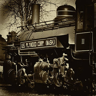 Photograph - The Steam Locomotive by David Patterson