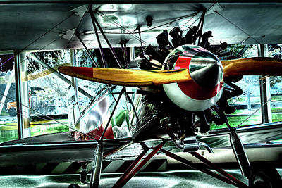 Photograph - The Stearman C-3b Biplane by David Patterson