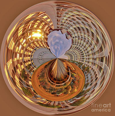 Photograph - The Steel Globe by Kathy Baccari