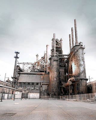 Photograph - The Steel Industry by Lori Deiter