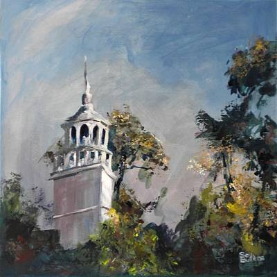 Painting - The Steeple by Sally Bullers