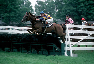 Steeplechase Race Photograph - The Steeplechase by Marc Bittan