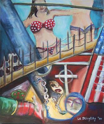 The Steerage Revisited Art Print by Lee Anne Stieglitz