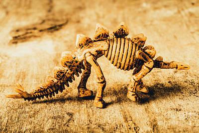 The Stegosaurus Art In Form Art Print