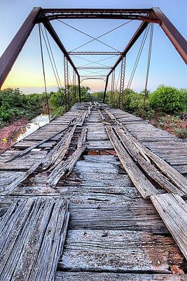 Photograph - The Steinman Bridge by JC Findley