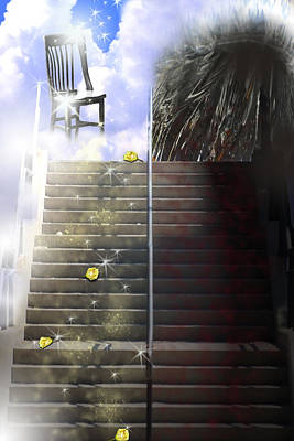 Digital Art - The Steps Taken by Cathy Beharriell
