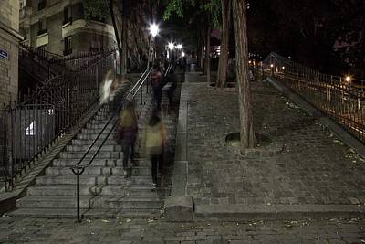 Photograph - The Steps To Montmartre  by Hany J
