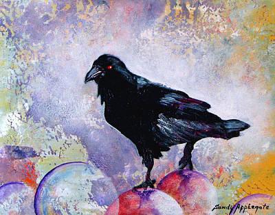 The Stillness Gave No Token Art Print by Sandy Applegate