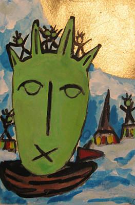Painting - The Stollen Freedom Ny by Krisztina Asztalos