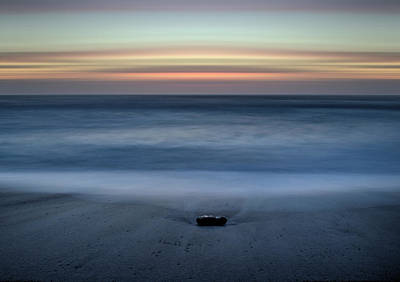 Photograph - The Stone And The Sea by Morgan Wright