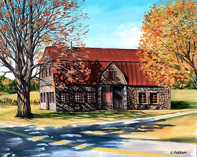 Painting - The Stone Barn, Bar Harbor, Maine by Eileen Patten Oliver