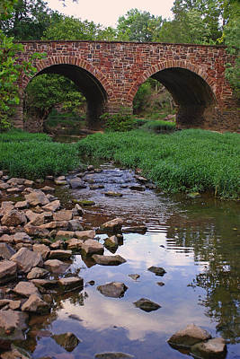 The Stone Bridge At Manassas Art Print