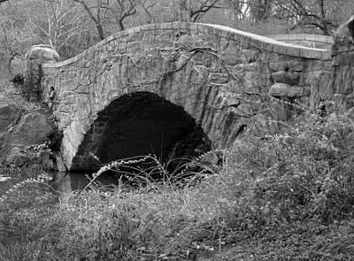The Stone Bridge Art Print by Dennis Curry