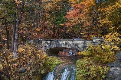 Photograph - The Stone Bridge by John Kiss