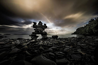 Gichigami Photograph - The Stone Man by Jakub Sisak