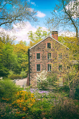 The Stone Mill In Spring Art Print