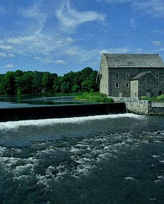 Stone Buildings Photograph - The Stone Mill by Val Arie