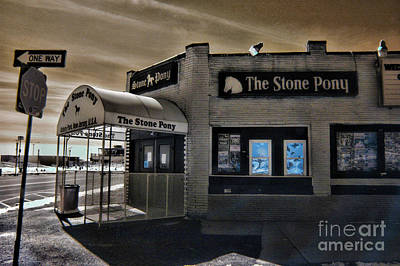 Bruce Springsteen Photograph - The Stone Pony In Infared by Paul Ward