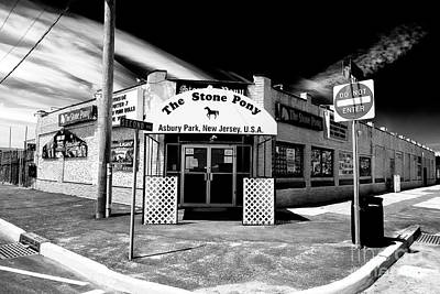 Jersey Shore Wall Art - Photograph - The Stone Pony by John Rizzuto