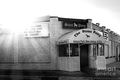 Asbury Park Photograph - The Stone Pony  by Olivier Le Queinec