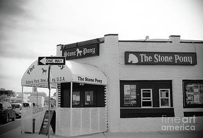 The Stone Pony - One Way Art Print by Colleen Kammerer