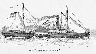 Photograph - The Stonewall Jackson Steamship by Paul W Faust - Impressions of Light