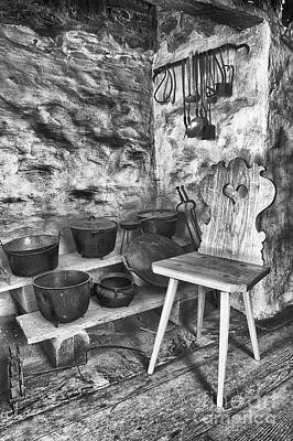 Photograph - The Stool by Paul W Faust - Impressions of Light