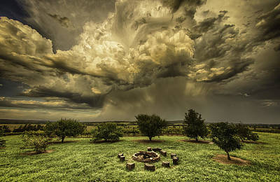 Photograph - The Storm by Chris Cousins