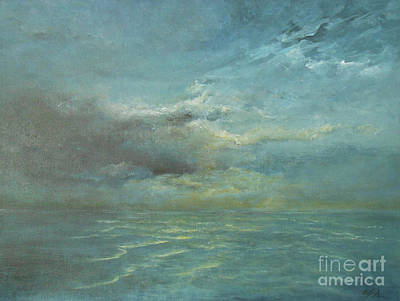 Painting - The Storm by Jane See