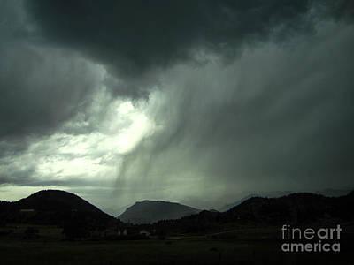 Colorado Photograph - The Storm by Kimberly Noxon