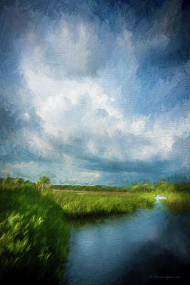 Wetlands Photograph - The Storm by Marvin Spates