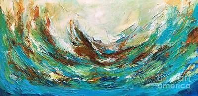 Painting - The Storm by Preethi Mathialagan
