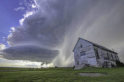 Photograph - The Storm Will Pass by Zach  Roberts