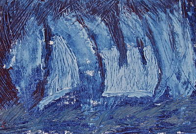 Art Print featuring the painting The Storm by Xn Tyler
