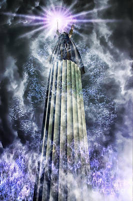 Enchanter Digital Art - The Stormbringer by John Edwards