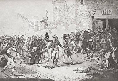 The Storming Of The Bastille, Paris Art Print