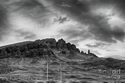 Photograph - The Storr by Diane Macdonald