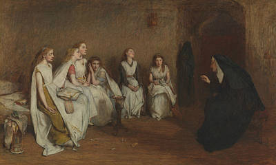The Story Of A Life Print by William Quiller Orchardson