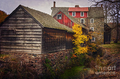 Photograph - The Stover-meyers Mill by Debra Fedchin