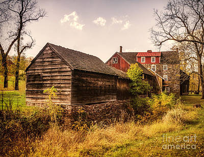 Photograph - The Stover-myers Mill by Nick Zelinsky