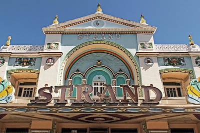 Photograph - The Strand Theater  by Hany J