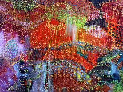 The Strange World Art Print by Lolita Bronzini