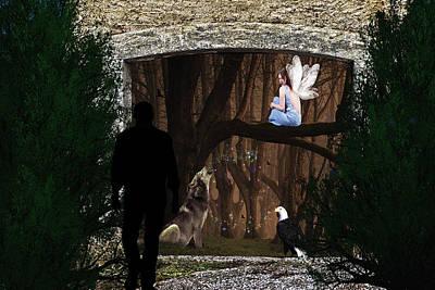 Photograph - The Stranger That Found A Secret Garden by Diane Schuster