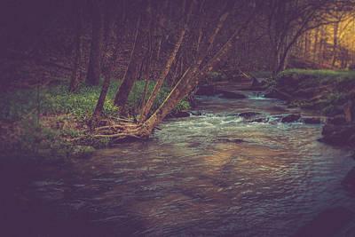 Virginia Photograph - The Stream by Shane Holsclaw