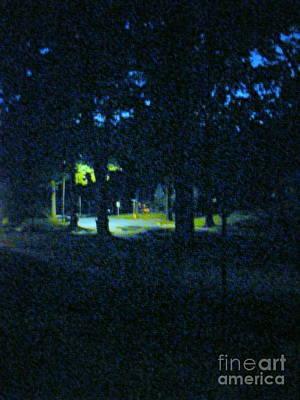 Photograph - The Street Light by Nancy Kane Chapman