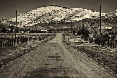 Photograph - The Street Where Roo Lives by Roger Passman