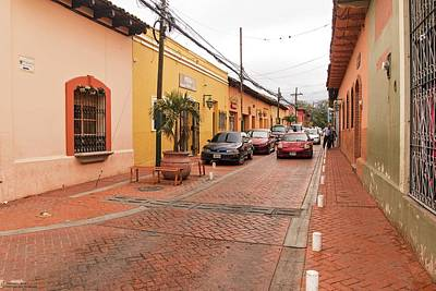 Photograph - The Streets Of Comayagua - 1 by Hany J
