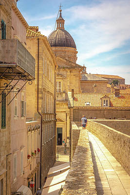 Photograph - The Streets Of Dubrovnik by Andrew Matwijec
