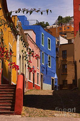 The Streets Of Guanajuato Art Print