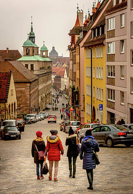 Photograph - The Streets Of Nuremberg by Andrew Matwijec